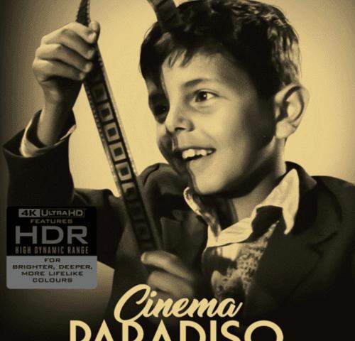 Cinema Paradiso 4K 1988 ITALIAN