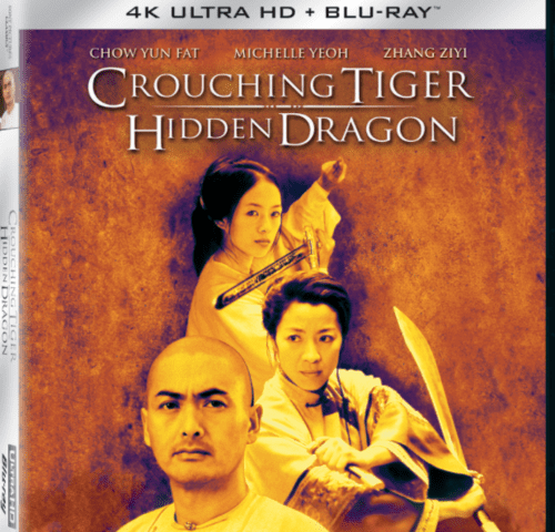 Crouching Tiger Hidden Dragon 4K 2000 CHINESE